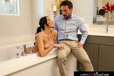 Anissa Kate likes to be watched in the bath tub and then FUCKED!!! (with Johnny Castle)