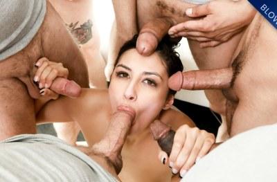 Gianna's First Blowbang | Gianna Dior