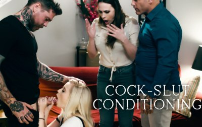 Cock-Slut Conditioning | Carolina Sweets, Dean Van Damme