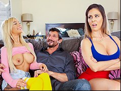 Step-Mom Teaches Me To Fuck Her BF | Cherie Deville, Kenzie Reeves & Tommy Gunn