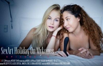 Holiday On Mykonos Episode 3 | Nancy A, Melody Petite, Alexis Crystal, Eric El Gran & Nick Ross