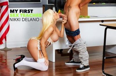 Nikki Delano & Tyler Nixon | First Sex Teacher | 2019