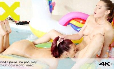 XXX Pool Play | Paula Shy, Sybil Arch