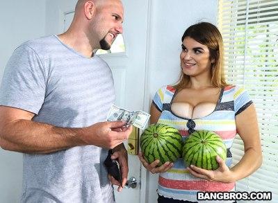 Fucking The Water Melon Girl | Jenni Noble, JMac