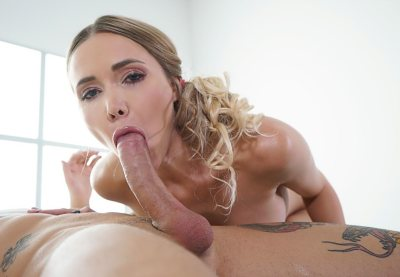 Sexy blonde sensual oil soaked anal | Polina Max