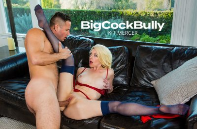 Kit Mercer fucks her son's bully to get him to stop (with Danny Mountain)