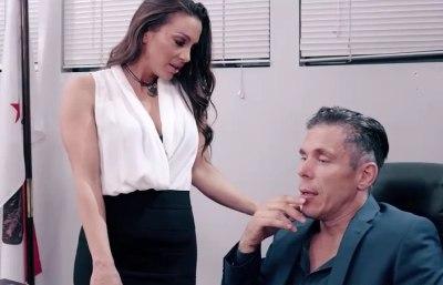 Abigail Mac & Mick Blue Office Sex