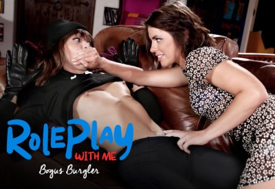Roleplay With Me: Bogus Burglar | Adriana Chechik, Riley Reid