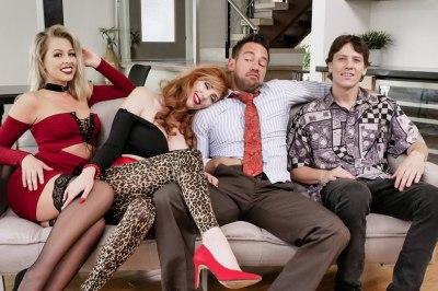 Married With Stepchildren | Lauren Phillips, Zoey Monroe & Johnny Castle
