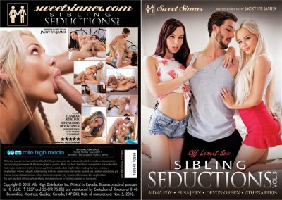 Sibling Seductions 3 | Full Movie | 2018 | Elsa Jean, Aidra Fox, Athena Faris, Devon Green, Seth Gamble, Lucas Frost & Nathan Bronson