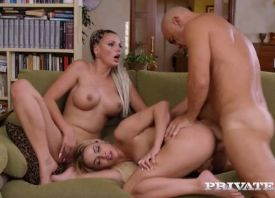 Alexis Crystal Watches Star In Anal Threesome | Cherry Kiss, Jolee Love & Christian Clay