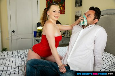 Samantha Reigns has a sweet pussy and Brad can smell it!!