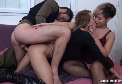 Celia Pushes Sheina To Lust