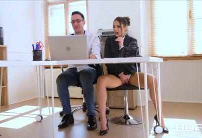 XXXtra Horny During Office Hours   Sybil, Kai Taylor