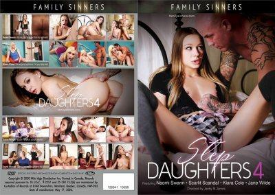 Step Daughters 4 | Full Movie | 2020 | Naomi Swann, Jane Wilde, Scarlit Scandal, Kiara Cole