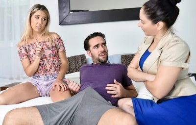 Supervised Stepsibling Sex | Paisley Bennett, Logan Pierce