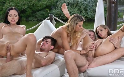 Vixens On Vacation, Part 2 | Sasha Rose, Kinuski, Shalina Devine, Vince Karter & Josh