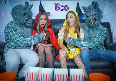 Halloween Switch Plan | Dani Blu, Bailey Base, Johnny Tattoo & Peter Green