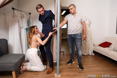 Jess Screams Yes For The Dress | Jess Scotland, Danny D