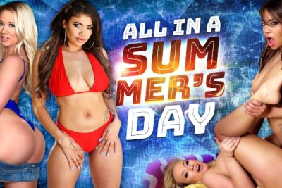 All In A Summer's Day | Bailey Brooke, Cassidy Banks