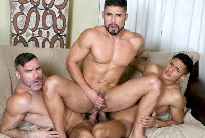 3 Amigos | Manuel Skye, Dann Grey & Santiago Rodriguez | Bareback