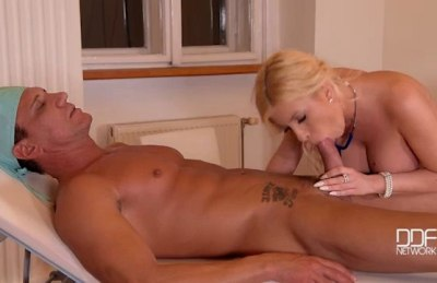 Doctor's Fuckpointment – Blonde Patient Gets Jizzed On Big Tits – Dona Bell (2016)