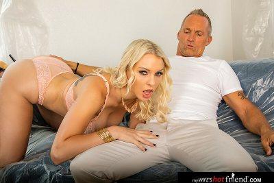Kenzie Taylor fucks her friend's husband (Marcus London)