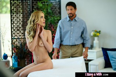 Aiden Ashley has massage stud (Tommy Gunn) give her a happy ending