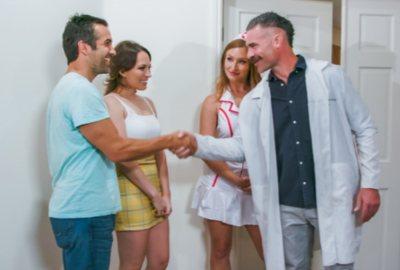 Fertility Clinic | Skylar Snow, Lily Love, Charles Dera & Donnie Rock