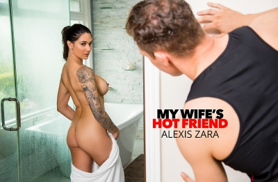Alexis Zara fucks her trainer and best friend's husband (with Sam Shock)