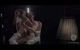 Hot schoolgirl fantasy fuck with gorgeous Ukrainian blonde Nancy A (2017)