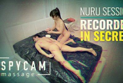 Spycam Nuru Massage | Jade Kush, Donnie Rock