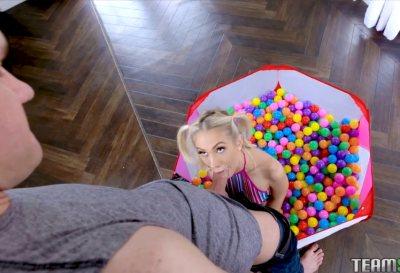Bubble Pit Pussy Pleasure | Sky Pierce