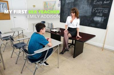 Emily Addison & Juan El Caballo Loco | Sex Teacher | 2019