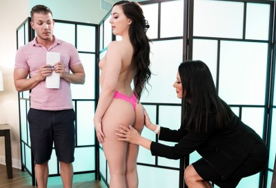 Trying Out The New Masseuse | Whitney Wright, Reagan Foxx, Codey Steele