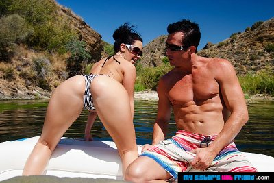 Jayden Jaymes gets a big cock (with Billy Glide)