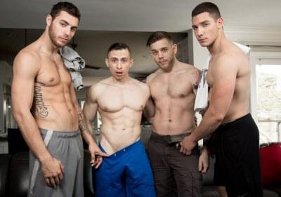 Brotherly Order   Dante Martin, Spencer Laval, Carter Woods, Steve Rickz   Bareback