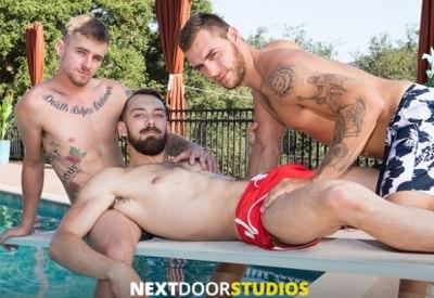 Three Play   Ryan Jordan, Carter Woods & Johnny B   Bareback