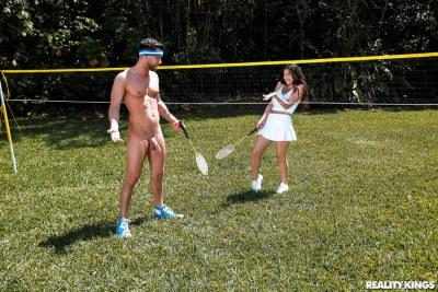 Badminton Boobies | Gabriela Lopez, Seth Gamble