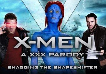 XXX-Men: Shagging the Shapeshifter (XXX Parody) – Nicole Aniston, Charles Dera & Xander Corvus (2016)