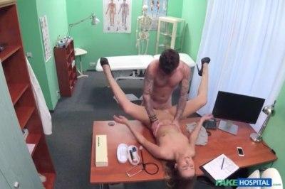 Nurse fucked hard by patient – Alexis (2016)