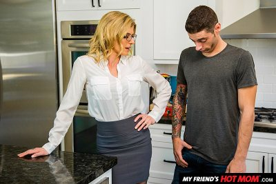 Cory Chase makes her son's friend earn his stay (with Billy Boston)