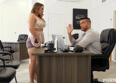 Naughty American blonde nympho Cali Carter cheats on her hubby for big dick GP1321