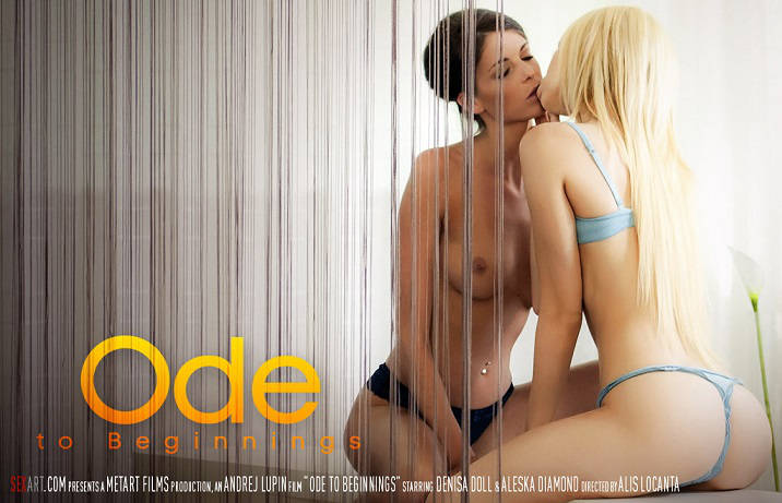 Ode To Beginnings – Aleska Diamond, Denisa Doll (SexArt / 2015)