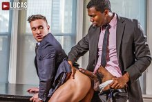 Sean Xavier And Alexander Volkov | Interracial Sex In Suits (2016)