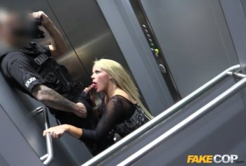 Policeman Escorts MILF Home for Sex – Aaliyah Ca Pelle (2016)