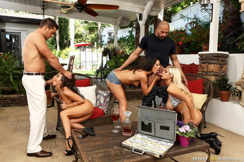 Pussy O Plomo: Part 4 – Bridgette B, Abigail Mac, Alexa Tomas, Ramon Nomar & Karlo Karerra (Brazzers / ZZSeries / 2016)