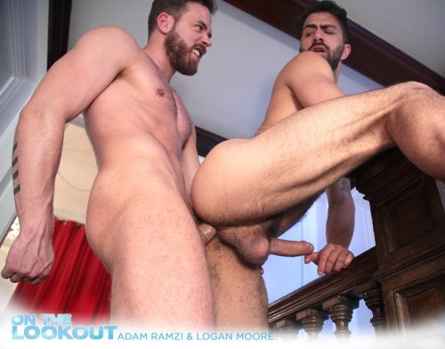 On The Lookout – Adam Ramzi, Logan Moore (NakedSword / 2015)