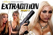 Extradition: Part One – Adriana Sephora, Luna Star & Kat Dior (2017)