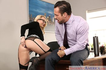 AJ Applegate & Johnny Castle in Naughty Office (2016)